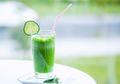 Selain Segar, Ini 5 Manfaat Kesehatan dari Segelas Jus Mentimun