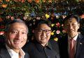 Ketika Kim Jong Un Berpose Untuk Selfie Publik Pertamanya di Singapura