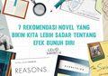 7 Rekomendasi Novel yang Bikin Kita Lebih Sadar Tentang Efek Bunuh Diri