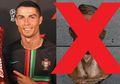Patung Cristiano Ronaldo Jadi Viral Dicemooh Karena Nggak Mirip, Akhirnya Dibikin Lagi