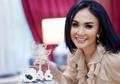 Intip Penampilan Manis Yuni Shara Kenakan Dress Tutu Bertabur Bunga