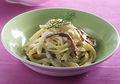 Fettuccine Cream Bacon, Sajian Pasta Lezat Yang Bisa Instan Dibuat