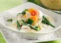 Tersaji Gurih Dan Hangat, Sayur Lombok Hijau Santan Cocok Untuk Santap Malam