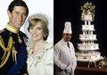 Seharga 36 Juta, Begini Bentuk Kue Pengantin Diana dan Pangeran Charles Setelah 37 Tahun