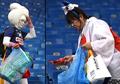 Salut! Walau Tersingkir dari Piala Dunia 2018, Fans Jepang Tetap Bersihkan Tribun Stadion