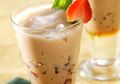 Rasanya Mustahil Minum Teh Susu Dengan Jeli Moka Ini Hanya Segelas