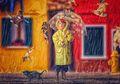 Seniman Ini Bikin Kedua Anaknya Serasa Ada di Negeri Dongeng