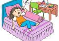 Pernah Merasa Seperti Terjatuh Saat Tidur? Apa Penyebabnya, ya?