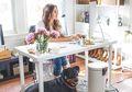 Sentuhan Feminim Ruang Kerja di Rumah, Cocok Untuk Wanita Karir