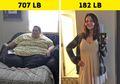 Inilah Foto Before-After 5 Wanita Penderita Obesitas, Sungguh Manglingi Setelah Mereka Kurus!
