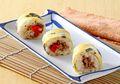 Semar Mendem Daging Oriental, Sarapan Lezat dengan Nasi Gulung ala Jepang