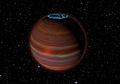 Planet Raksasa dengan Pancaran Cahaya Aurora Terdeteksi di Antariksa