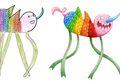 Wow, Monster Buatan Anak-anak Ini Digambar Ulang Menjadi Lebih Hidup!