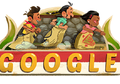 Begini Tampilan Google Doodle Sambut HUT RI dari Tahun ke Tahun
