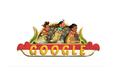 Ada Lomba Balap Karung di Google Doodle Hari Ini, Apa Makna Lomba Ini?