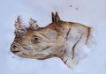 Kreatif! Seniman Ini Bikin Karya yang Gabungkan Lukisan Tangan dengan Semut