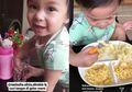 Ini 6 Gaya Paling Nyeleneh Nastusha, Anak Chelsea Olivia Saat Makan, Semua Jadi Pengen Punya Anak!