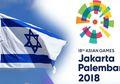 Palestina dan Suriah Berpartisipasi, Mengapa Israel Tidak Tampil di Asian Games 2018?