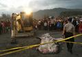 Hiu Nahas yang Terdampar di Pantai Parangkusumo Akhirnya Dikuburkan