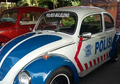 Beneran di Indonesia, Mobil VW Kodok jadi Mobil Patwal Polisi