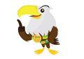 Asian Para Games Akan Digelar Bulan Oktober, Momo si Elang Maskotnya!