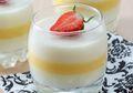 Semua Pasti Gak Bakal Nolak Kalo Disajikan Milk Vanilla Aprikot Pudding untuk Sore Nanti
