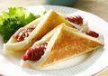 Roti dan Sosis Tampil Menarik Kalau Diolah Jadi Resep Roti Panggang Ragout Ini