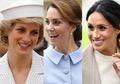 Begini Perbandingan Cara Makan Putri Diana, Kate Middleton, dan Meghan Markle di Acara Sosial, Lebih Anggun Mana?