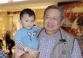 Namanya Juga Bocah! Ekspresi Cucu SBY Bikin Warganet Ngakak Saat Colek Kue Ulang Tahun Sang Kakek, Enggak Sabar, Ya?