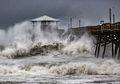 Terjangan Mematikan Badai Florence di Pantai Timur Amerika Serikat