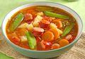 Gurihnya Semangkuk Sup Sosis Merah Bisa Tersaji dengan Resep Mudah Ini