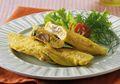 Bekal Sekolah Jadi Makin Fancy Dengan Resep Omelet Jamur Tuna