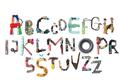 Unik! Font Ini Terbuat dari Sampah-Sampah yang Ditemukan di Jalanan