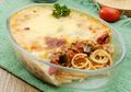 Asyik, Besok Pagi Sarapan Jadi Spesial Dengan Spagheti Panggang Daging Asap