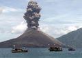 Betapa Dahsyatnya Letusan Gunung Krakatau 1883 yang Menyebabkan Hujan Batu Apung Cukup Deras di Teluk Betung