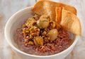 Lezatnya Tak Tergantikan, Nasi Bakmoy Beras Merah Bakal Jadi Sarapan Favorit