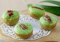 Resep Kue Apem Pandan Kurma Panggang, Kue Tradisional yang Mudah Dikreasikan