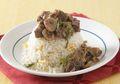 Resep Masak Nasi Siram Kambing Lada Hitam, Cocok Untuk Bekal Ataupun Sarapan Istimewa Besok Pagi