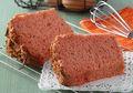 Resep Membuat Chiffon Cake Merah, Cantik dan Sehat Bahannya, Lo