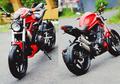 Sadis Banget! Pengen Punya Moge, Honda Tiger Dimodif Jadi Ducati Monster