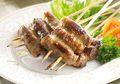 Resep Sate: Sate Kambing Gulung Sukiyaki, Cara Seru Menyantap Daging Kambing