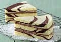 Resep Istimewa Hari Minggu: Zebra Cake, Kue Cantik yang Bisa Disajikan Kurang dari Satu Jam