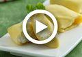 (Video) Resep Crepe Durian Sederhana, Rasanya Seenak yang di Medan!