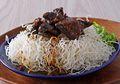 Resep masak Bihun Goreng Siram Daging, Makan Jadi Mantap Dengan Menu Satu Ini