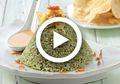 (Video) Resep Masak  Nasi Uduk Bayam, Nasi Uduk Jadi Lebih Sehat dan Menarik