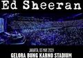 Sempat Gagal, Ed Sheeran Siap Gelar Konser di Jakarta Tahun Depan!