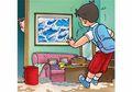 Cergam Anak: Bersih-Bersih Rumah