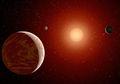 Ditemukan Planet Baru Mengorbit Bintang Katai Merah Gliese 832