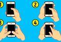 Bagaimana Cara Anda Memegang Ponsel? Jawabannya Bisa Ungkap Kepribadian Kita Lho!