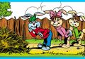 Cergam Anak Keluarga Kelinci: Boneka Rumput